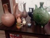 Kuvshinner bronzic, kavic ev keramikayic