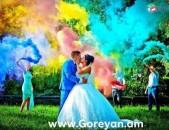 Goreyan Wedding House-ը առաջարկում է Գունավոր Ծուխ ընդամենը՝  - 3000դրամ։ Եղեք ինքնատիպ