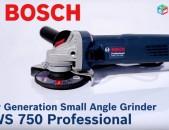 Անկյունային հղկող գործիք - BOSCH GWS 750 Professional