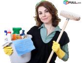 Մաքրման աշխատանքներ ցանկացած տարածքի