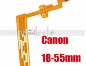 Canon Camera 18-55mm is. ii. iii. Replacement Part Lens Focus Zoom Flex Cable Ribbon New.