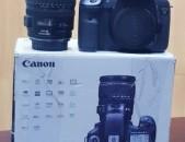 Canon EOS 7D DSLR Camera with 18-55 + պլէնտա. + battary grip.