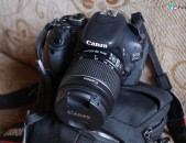 Canon EOS 600D DSLR Camera EF-S 18-55 mm IS II Lens) .