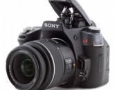 Sony Alpha DSLR-A550 14.2MP Digital SLR Camera.+ lens Sony 18-55mm f/3.5-5.6 SAM.