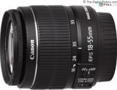 Canon EF-S 18-55mm f/3.5-5.6 IS II Lens.