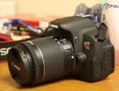 Canon rebel t5i EOS 700d SLR Camera with EF-S 18-55mm f / 3.5-5.6 IS stm Lens