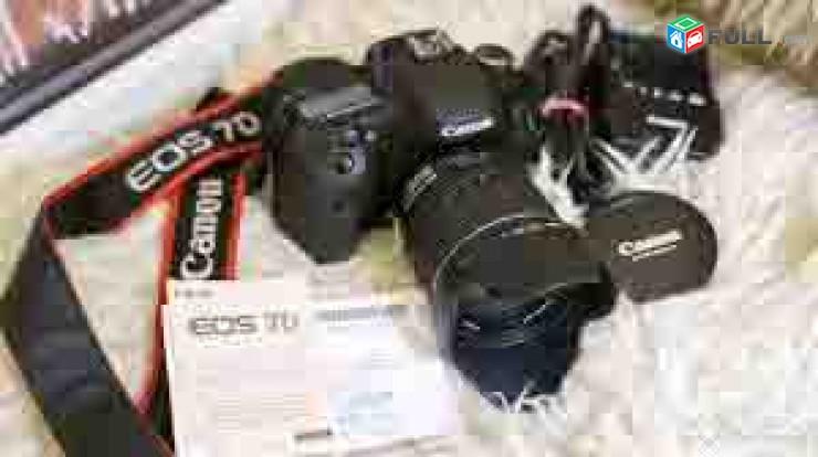 Canon EOS 7D canon (EF-S 15-85 mm f/3.5-f/5.6 IS USM lens. + uv filter + blenda. Tupov.