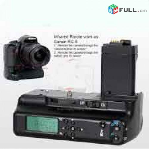 Canon EOS 500D (Digital camera + batary grip. 2xbattary.