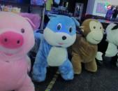 Մանկական ինքնագնաց ելեկտրական փափուկ խաղալիքներ (Animal Ride)