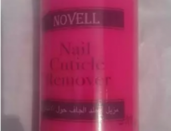 Cuticle remover Novell firmai