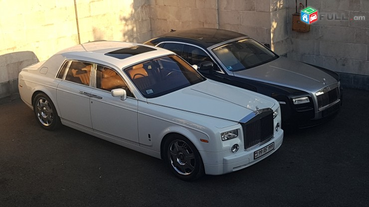 Rolls Royce Ghost Prakat ավտովարձույթ прокат Rent A Car prokat