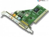 Audio card PCI slot