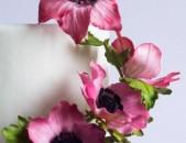 Անգլիական ոճով 3D ծաղիկների պատրաստում