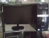 Hp compaq 500b mt + aoc 2043fsk monitor complect (araqum yerevanum)
