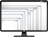 kgnem Monitorner LCD, LED tarber chaperi, shat lav vijakum, Monitor