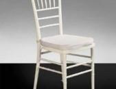 Վարձով սպիտակ աթոռ стул на пракат white chair for rent