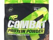Muscleman, Протеиновый порошок Combat, шоколадное молоко, 8 фунтов (3629 г)