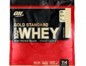Optimum Nutrition, Золотой стандарт, 100% сыворотка, Ванильное мороженое, 3.6кг