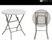 Վարձույթով կոկտելի պլաստմասե սեղան սեղան coctail table for rent