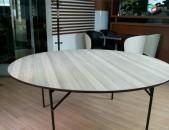 Վարձույթով կլոր սեղան/սեղան կլոր/vardzuytov klor sexan/sexan klor/table