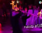 Միջոցառումներ և տոներ › Կազմակերպում և անցկացում  Կրակային շոու Felicita art.studio