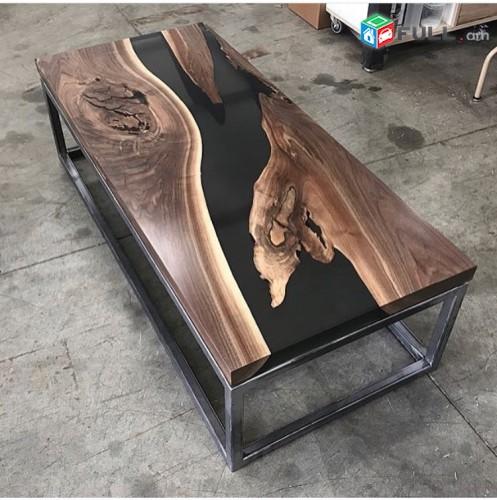 Սեղաններ sexanner epoxy