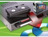 VHS Թվայնացում dvd եվ այլ ֆորմատների