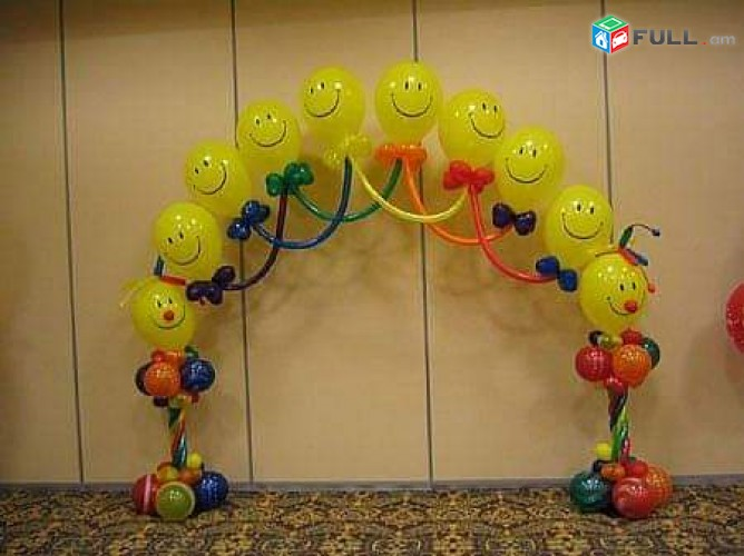 Փուչիկների Արվեստ, Balloons art decor