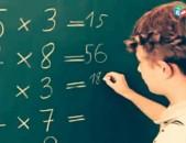 Matematika, H. lezu, fizika, Qimia Parapmunqner Shengavit, 3 masum