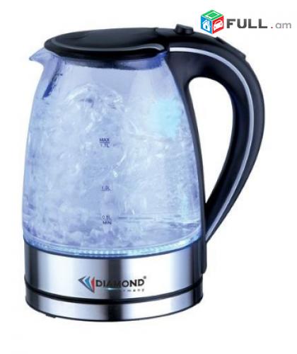 Чайник стеклянный DM-1060