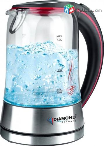 Чайник стеклянный DM-1005