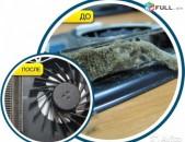 Համակարգիչների, նոութբուքերի փոշեմաքրում, ջերմամածուկի (термопаста) փոխում և յուղում։