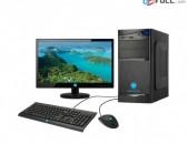 CPU Intel Core 2 Duo E7500 RAM DDR2 1GB HDD 80GB Video Card ATI Radeon HD 4650 DVD RW Monitor 19