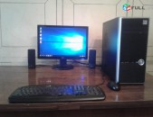 CPU Intel Core 2 Duo E7400 RAM DDR2 2GB HDD 500GB Video Card ATI Radeon HD 4650 DVD RW Monitor 19