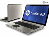 Intel Core i7 Real Quad 8Core HP DV7 8GB OZU 480Gb SSD + 500GB HDD 17.3 HD LED D