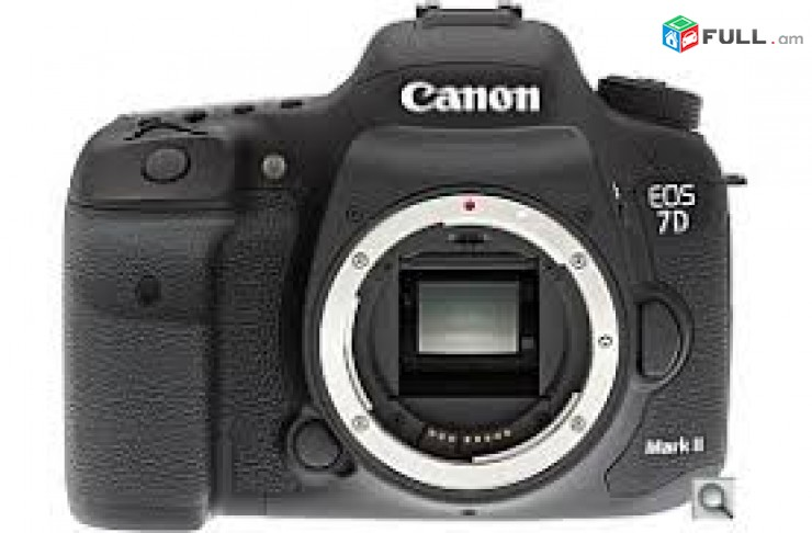 Canon eos 7d mark 2 (body only) shutter count (5000)