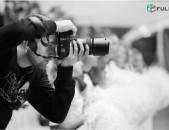 Ֆոտո և վիդեո նկարահանում բոլոր միջոցառումների համար: FOTO PHOTO VIDEO VIDYO NKARAHANUMNER