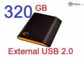 External / Արտաքին վինչ 1TB, 2TB 750GB 500GB 320GB 250GB 160GB 120GB 80GB 40GB