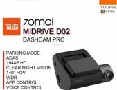 Camera Xiaomi 70 Mai Dash Cam Pro +GPS 2019թ 2K 1944P HD Wi-Fi Car DVR Видео Регистр ДВР