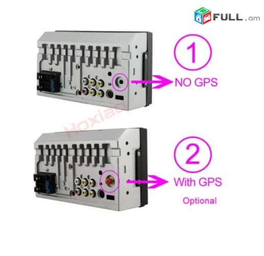 """Avtoi MAG սենսոր + հետևի կամերա HoXiao C-MP5-6800 7 """"HD Windows CE GPS Bluetooth"""
