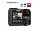 Camera Registrator 4K 2160P wifi gps регистратор 3 in1 двойной объектив Night