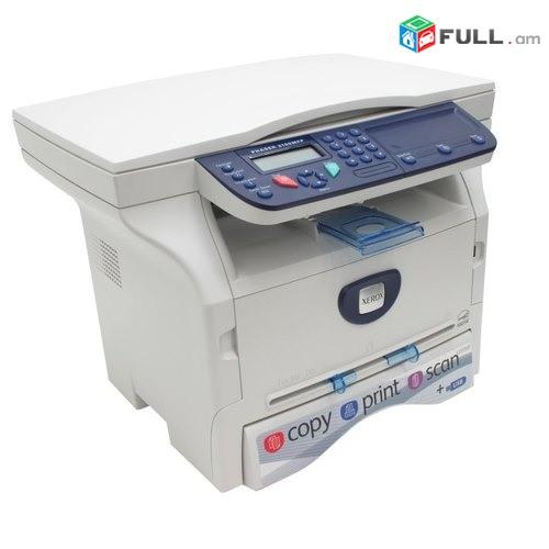 Printer Xerox Phaser 3100MFP 3-ը 1-ում Պատճենահանման սարք (տպիչ, սկան պատճենող)