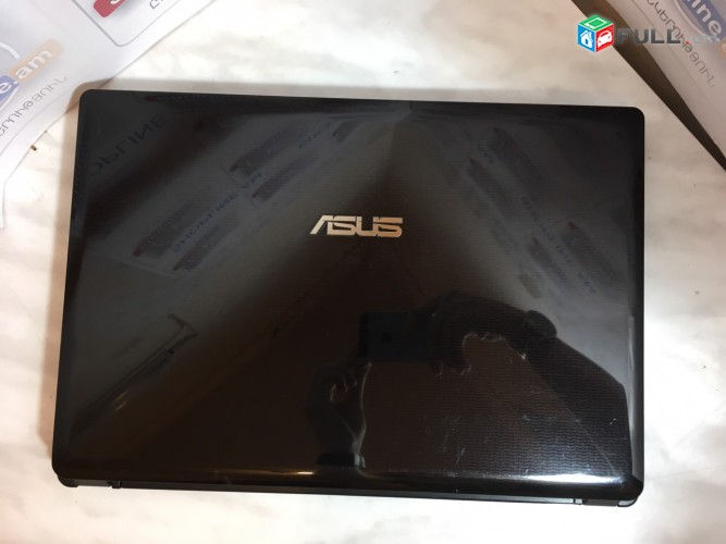 Notebook ASUS K 43T HD 14 LED էկրան RAM 6gb HDD 500gb AMD A6 նոթբուք