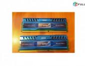 խաղային ռամ Patriot DDR3 8 GB (2 x 4 GB) 1600MHz xaxayin ram զույգով DDR 3 ozu