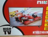 ՆՈՐ հեռուստացույց 32 դույմ 81sm HDMI VGA DVB-S2 DVB-T2  LED TV+ APARIK