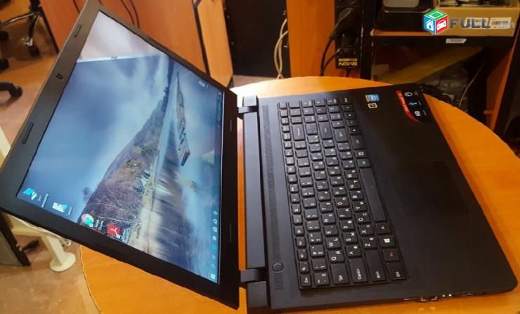 """Notebook Lenovo Ideapad 15.6"""" 4gb ram HDD 250GB dual core նոութբուկ + ԵՐԱՇԽԻՔ"""