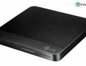 LG արտաքին դիսկավոդ 24x DVD-RW CD-RW DL պատյան նոթբուք case noutbuk / առաքում
