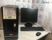Համակարգիչ + HDD Monitor LCD Dual Core RAM 2GB / 500GB մանիտոռ