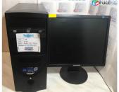 HDD Manitor մոնիտոր LCD PC + Monitor 17