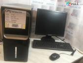 Համակարգիչ + Monitor Celeron RAM 4GB / HDD 500GB HDD hamakargich